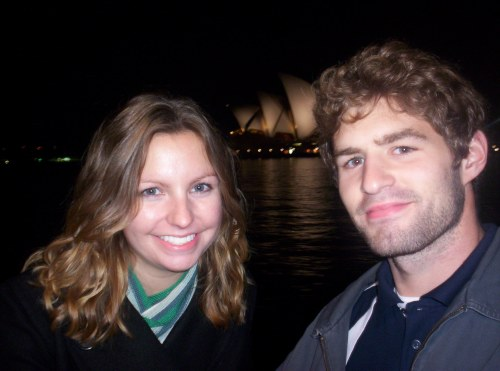 Me and Pete IN Sydney. I think this was either June or July of 2007.